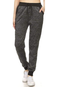 LIVING FOR COMFORT JEGGINGS-CHARCOAL GREY - Infinity Raine