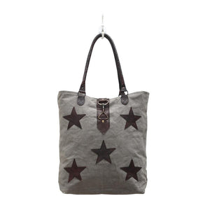 Stardom Canvas Tote Bag - Infinity Raine