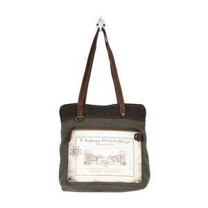 CHATEAU PETIT VILLAGE TOTE BAG - Infinity Raine