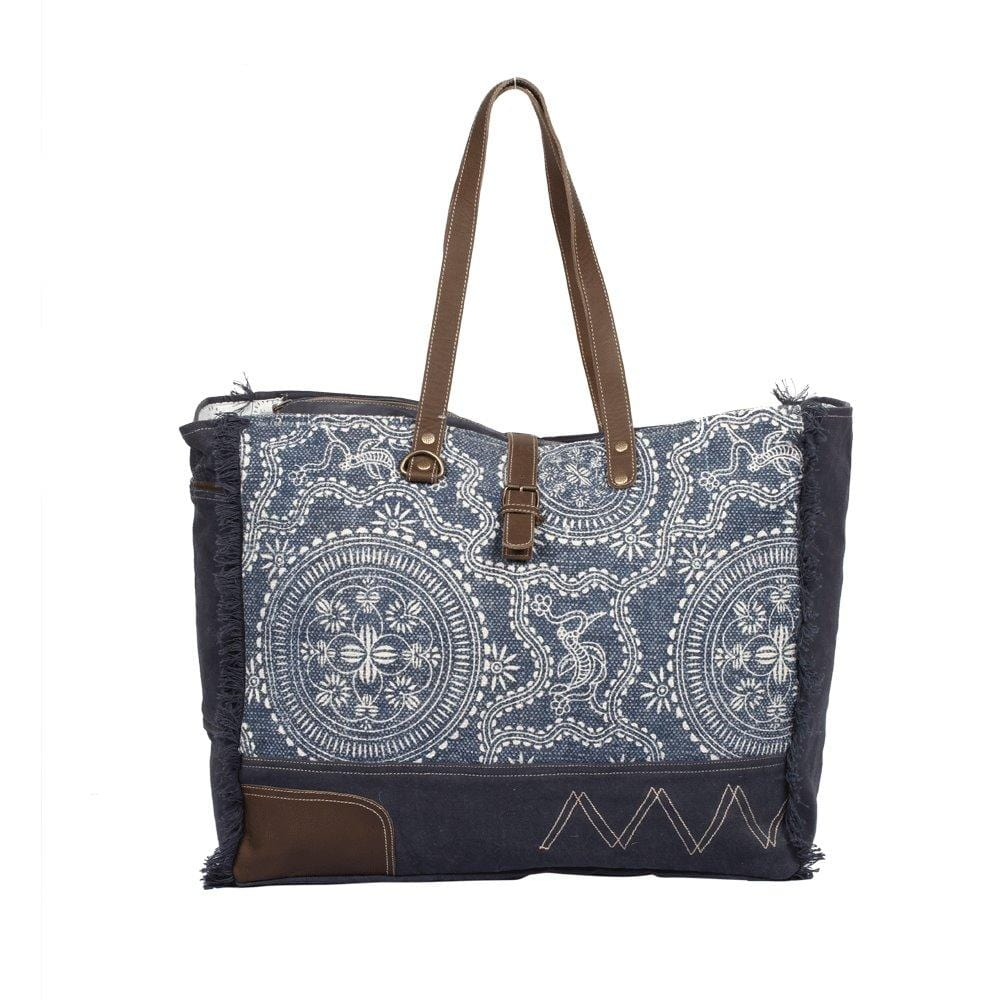 SYLVAN BLUE WEEKENDER BAG - Infinity Raine