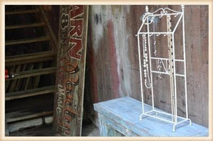 DISTRESSED TALL JEWELRY DISPLAY - Infinity Raine
