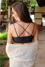 Load image into Gallery viewer, WALK THIS WAY BRALETTE-CHARCOAL - Infinity Raine