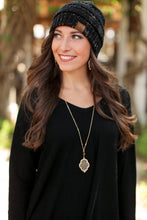 Load image into Gallery viewer, BEAT THE CHILL BEANIE-BLACK - Infinity Raine