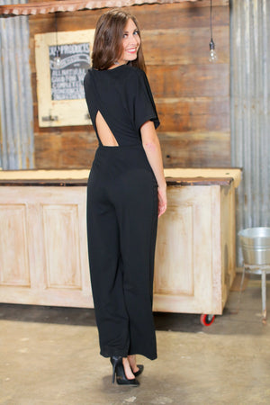 DAY AND NIGHT JUMPSUIT-BLACK - Infinity Raine