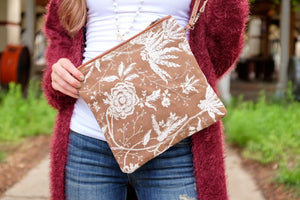 THE ROSE GARDEN MEDIUM CLUTCH - Infinity Raine
