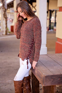 MARLED LACE DETAIL SWEATER-TERRACO - Infinity Raine