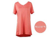 HELLO MELLO-THE DREAM TEE SHORT SLEEVE TEE-CORAL - Infinity Raine