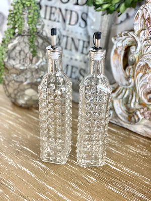 OIL & VINEGAR BOTTLE SET - Infinity Raine