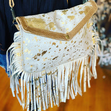 Load image into Gallery viewer, GOLDEN GIRL HAIRON BAG - Infinity Raine