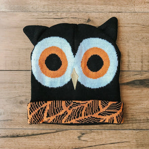 CRITTER COLLECTION KID'S KNIT HAT-OWL - Infinity Raine