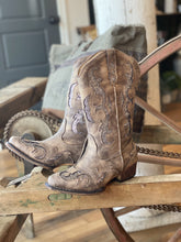 Load image into Gallery viewer, A NIGHT TO REMEMBER GLITTER UNDERLAY COWGIRL BOOT - Infinity Raine