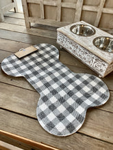 Load image into Gallery viewer, WAGGING TAILS PET PLACEMAT- GINGHAM - Infinity Raine