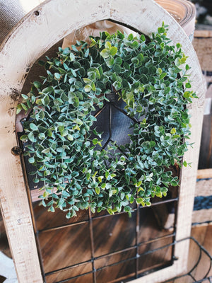 FOREVER GREEN BOXWOOD WREATH-SMALL - Infinity Raine