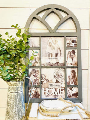Wooden Cathedral Window Photo Frame - Infinity Raine
