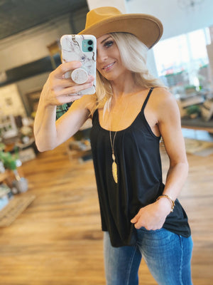 The Rundown Tank Top-Black - Infinity Raine