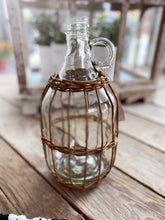 Load image into Gallery viewer, WICKER WRAPPED JUG - Infinity Raine