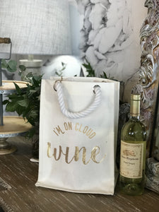 CHEERS! REUSABLE WINE BAGS-QUAD BOTTLE HOLDER - Infinity Raine