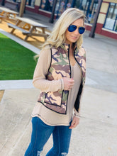 Load image into Gallery viewer, CAMO PRINT PADDED VEST-CAMOUFLAGE - Infinity Raine