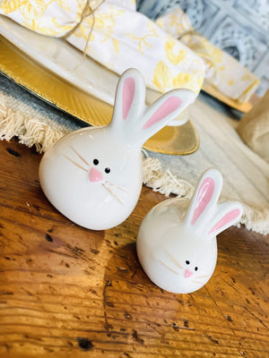 This Needs Salt Bunny Rabbit Salt & Pepper Shaker-White - Infinity Raine