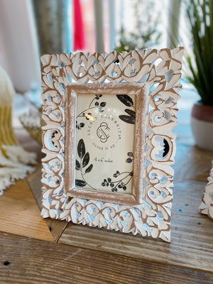 Twisted Haven Wood Picture Frame-Mini - Infinity Raine