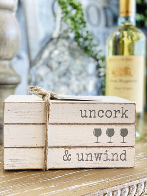 UNCORK & UNWIND WINE HOME DECOR - Infinity Raine