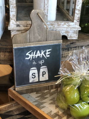 SHAKE IT UP S&P KITCHEN DECOR - Infinity Raine