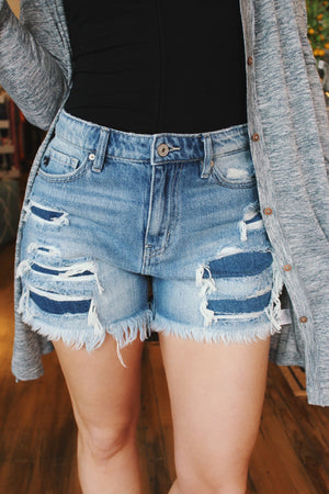 Run Away With You High Rise Jean Shorts - Infinity Raine