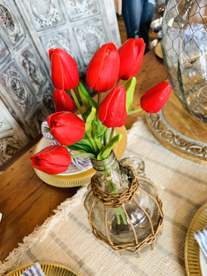 TULIP BOUQUET-RED - Infinity Raine