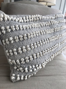 IN THE MOOD FOR POPCORN THROW PILLOW - Infinity Raine