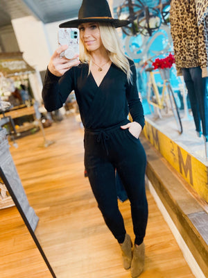 SIMPLY THE BEST JUMPSUIT-BLACK - Infinity Raine