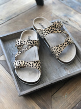 Load image into Gallery viewer, KNOW THE WAY TO YOU CHEETAH PRINT SANDALS - Infinity Raine