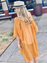 Load image into Gallery viewer, ON THE FLY SEQUIN KIMONO-Camel - Infinity Raine