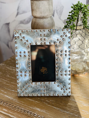 CRAZY IN LOVE PICTURE FRAME- SILVER - Infinity Raine