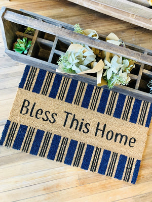Bless This Home Doormat - Infinity Raine
