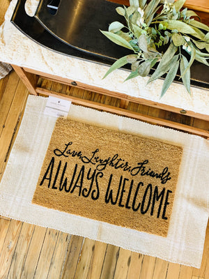 Always Welcome Doormat - Infinity Raine