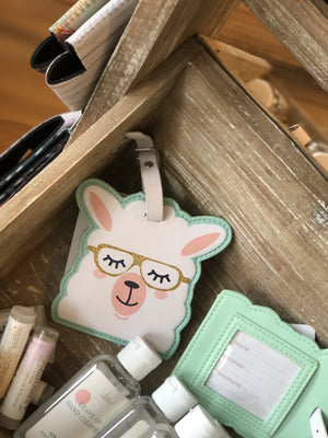 LLAMA LOVE LUGGAGE TAG - Infinity Raine