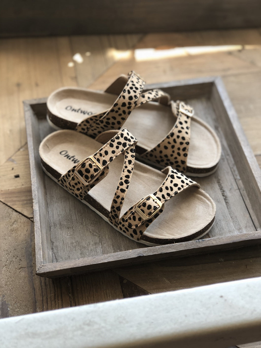 KNOW THE WAY TO YOU CHEETAH PRINT SANDALS - Infinity Raine