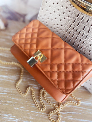 Locked & Loaded Quilted Crossbody Purse - Infinity Raine