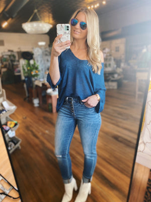 Endearing Soul High Rise Skinny Jeans - Infinity Raine