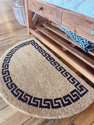 Come On In Half Circle Doormat - Infinity Raine
