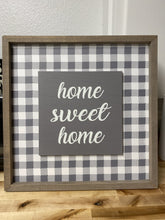 Load image into Gallery viewer, HOME SWEET HOME GINGHAM WALL DECOR - Infinity Raine