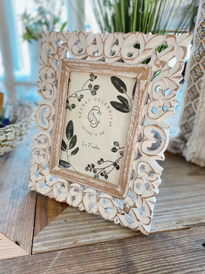 Twisted Haven Wood Picture Frame-Regular - Infinity Raine