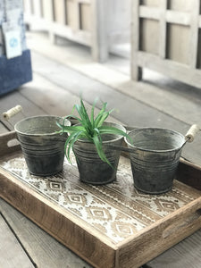 DISTRESSED CADDY PLANTER - Infinity Raine