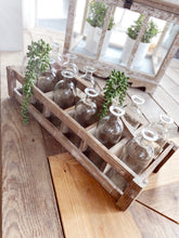 Load image into Gallery viewer, 12 BOTTLE BEACH WOOD TOTE - Infinity Raine