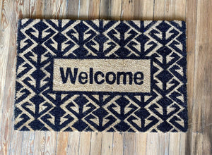 WELCOME TO MY HOUSE DOORMAT - Infinity Raine