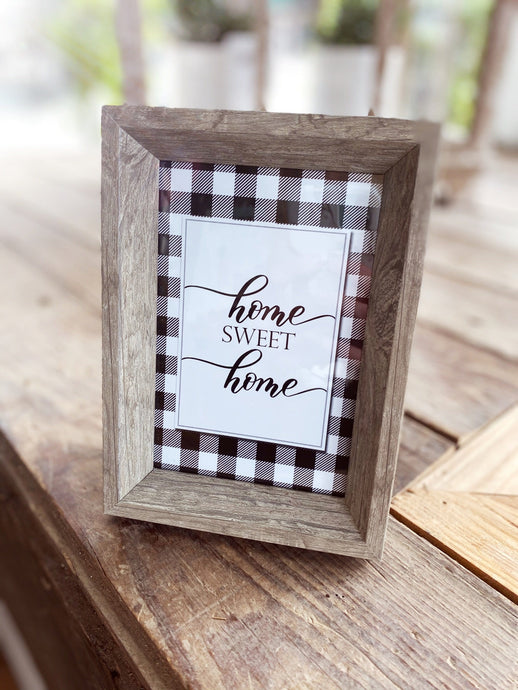 HOME SWEET HOME PICTURE FRAME - Infinity Raine