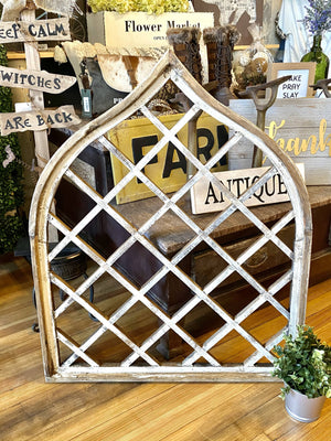ANTIQUED ORTONA WINDOW ARCH - Infinity Raine