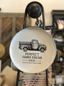 PERFECT FARM FRESH SHOP METAL TRAY WALL DECOR - Infinity Raine