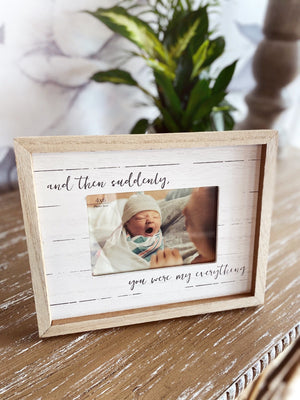My Everything Baby Photo Frame - Infinity Raine