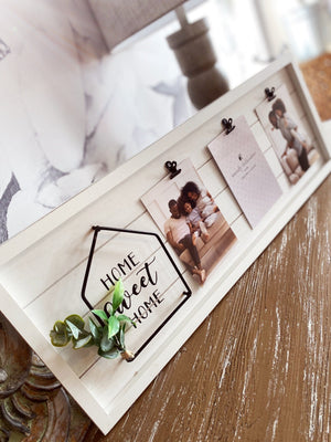 Home Sweet Home Picture Clipboard - Infinity Raine